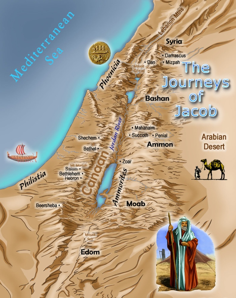 The Journeys of Jacob