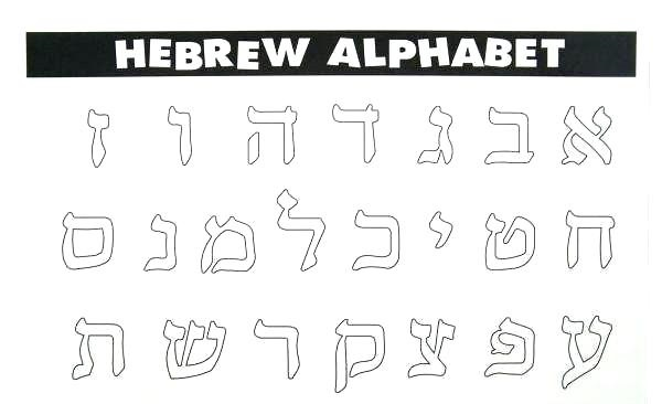 Greek And Hebrew Alphabet List