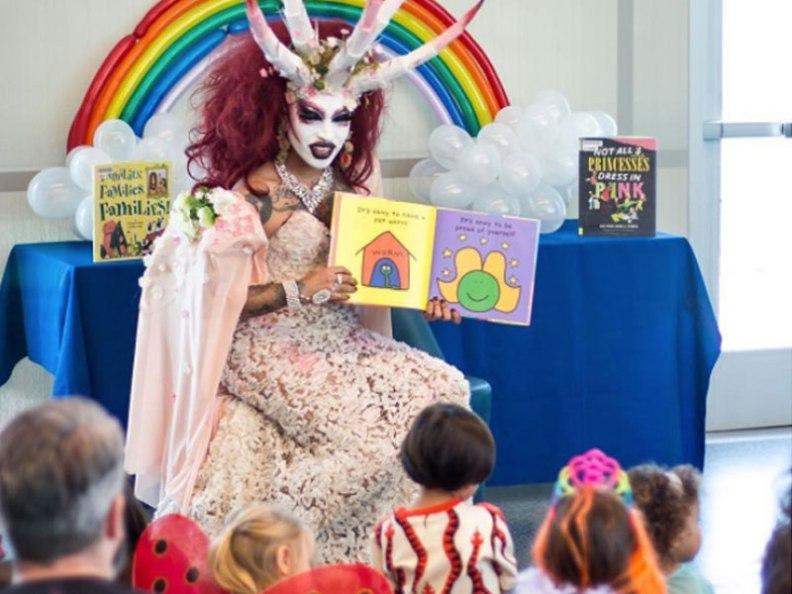 LGBTQ Drag Queen Story Hour