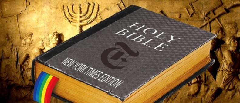 Does 'Earlier Texts' Of Leviticus Contain Pro-Homosexual Verses. New York Times says it does.