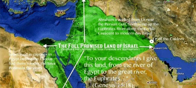 God's Original Land Grant Of Israel To Abraham