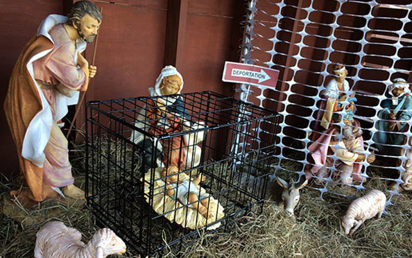 St. Susanna Parish's Nativity display