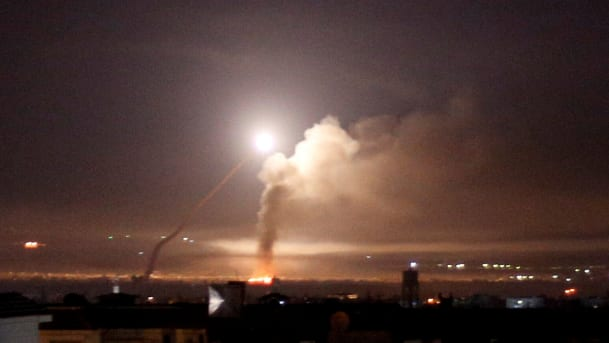 israel strike on damascus