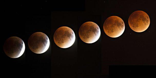 A Super Wolf Blood Moon