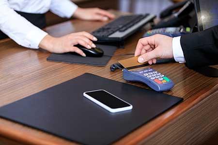 debit or credit cards