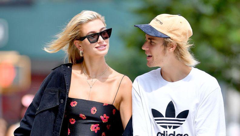 Hailey Baldwin and her husband Justin Bieber