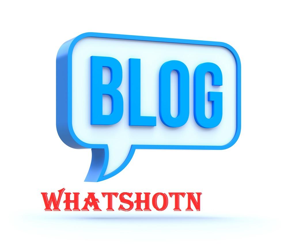 Blog from WHATSHOTN
