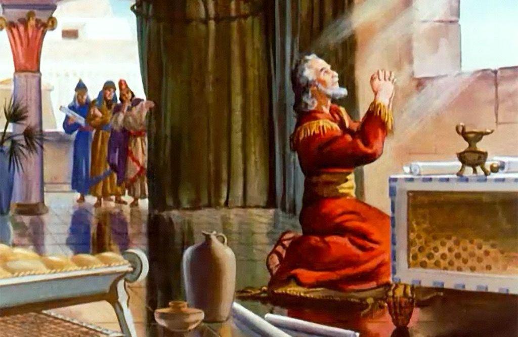 Image result for daniel praying