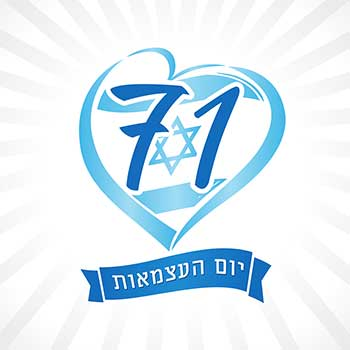 Israel's 71st Yom Ha'atzmaut (Independence Day)
