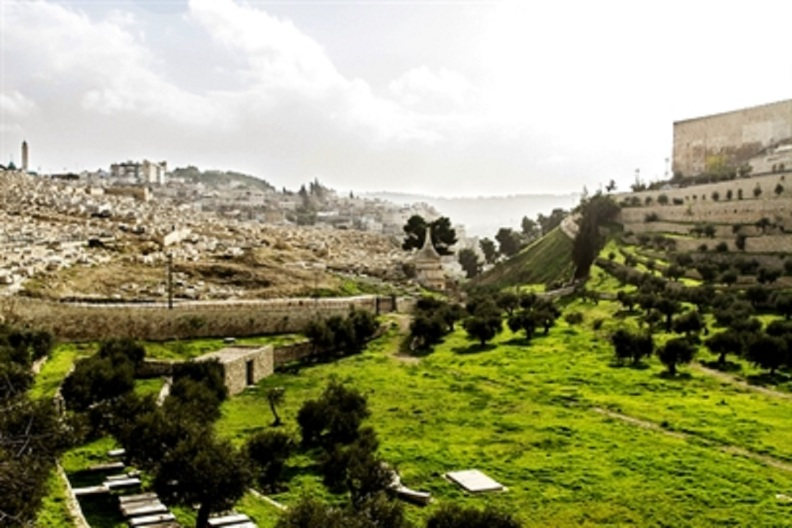 Valley of Jehoshaphat is called the Kidron Valley