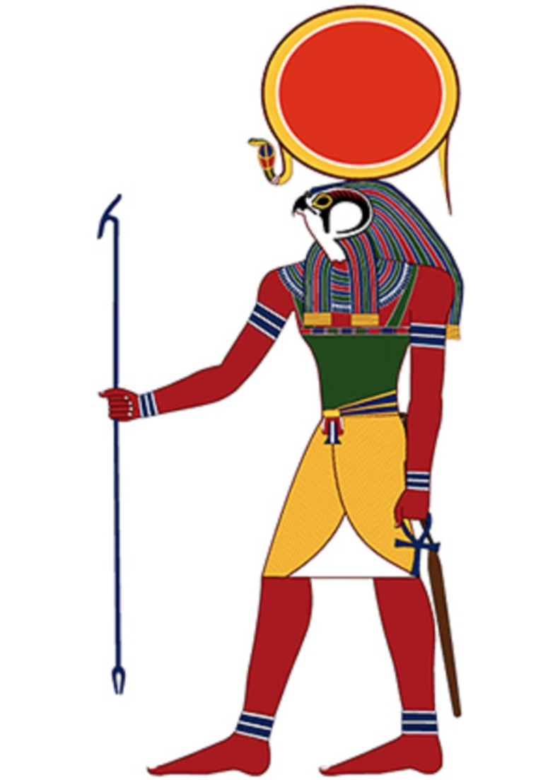 The Egyptian sun god Ra